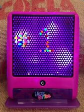 Lite-Brite Pink LED Flat Screen Hasbro 2010 Battery Operated Lots Pegs No Pages