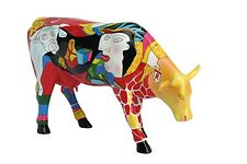 Cow Parade Hommage to picowso's African period Taille environ 20 cm 46357! Produit B!