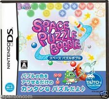 Used DS Taito Space Puzzle Bobble  NINTENDO JAPANESE IMPORT