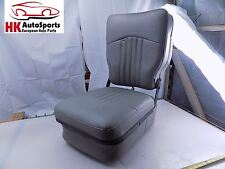 Steel Horse Automotive Universal Jump Seat Center Console Blue and Grey
