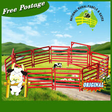 10pcs Cattle/Horse Yard Panel ABS demo/model for yard plan  plus 2 gate as 1 set