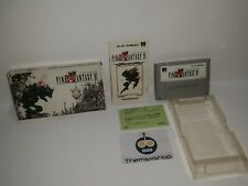 74-12 SUPER NINTENDO SNES FAMICOM SFC FINAL FANTASY VI JAPAN