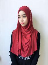 Arab Muslim Women Hijab Long Scarf Headwrap Turban Headwear Shawl Scarves