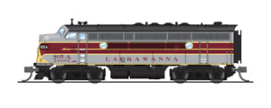 3789 N-SCALE BLI EMD F3A, DLW 805C, Maroon/Gray/Yellow Scheme, Paragon3 Sound