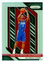 SHAI GILGEOUS-ALEXANDER 2018-19 Panini Prizm SILVER Refractor Rookie Card RC