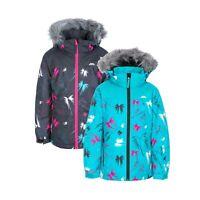 Trespass Girls Ski Jacket Waterproof Windprood Snow Hooded Coat Beebear