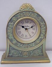 "Seth Thomas ""Evelyn"" Quartz Arch Mantel Clock Tgo5201"