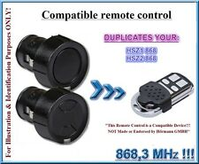 Hormann HSZ1, Hörmann HSZ2 compatible remote control, 868,3MHz CLONE duplicator