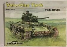 Squadron Signal publications. Valentine tank Walk Around