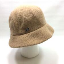 Betmar New York Ladies Bucket Hat One Size Wool Camel Tan Winter Warm