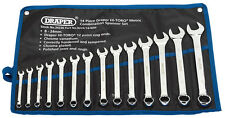 Genuine DRAPER Metric Combination Spanner Set (14 Piece) | 34236
