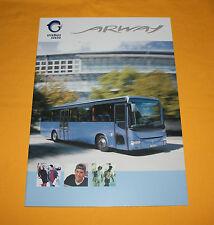 Irisbus Arway 2012 Prospekt Brochure Depliant Prospetto Catalog IVECO