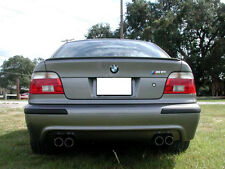 Fibre De Carbone BMW E39 Série 5 4D 2D Boot Lip Spoiler Wing 1997-2003 UK Vendeur