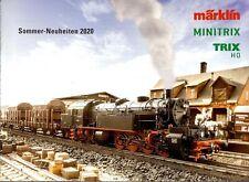 Märklin TRIX Minitrix 2020 Sommer-Neuheiten Prospekt