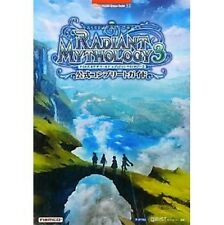 Tales of the World Radiant Mythology 3 official complete guide book / PSP