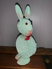 Vintage Easter Bunny Candy Container Paper Mache Made In Germany