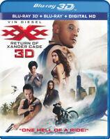 xXx - Return of Xander Cage 3D (Blu-ray 3D + B New Blu
