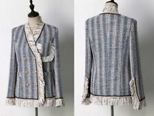 Unbranded Dry-clean Only Striped Coats, Jackets & Vests for Women
