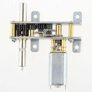 12V 8RPM Torque Gear Box Motor For ROBOT