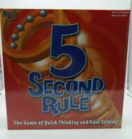 University Games 5 Second Rule Board Game - New sealed