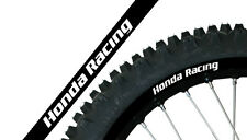 BLACKBIRD KIT ADESIVI CERCHI 18' 19' MOTO CROSS ENDURO NERO HONDA CR 500 91-01