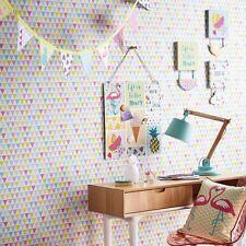 Jester Papel Pintado Geométrico BRILLO - Arthouse 696005 triángulos