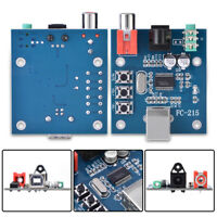 PCM2704 USB DAC to S/PDIF HiFi Sound Card Decoder Board 3.5mm Analog Output F/PC