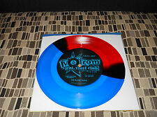 "THE BLANK TAPES 1000 LEATHER TAPES 7""  VOLCOM  RED AND BLUE colored vinyl  NEW"