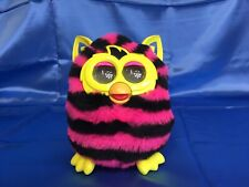 Not Working 2012 Hasbro Furby Pink & Black Stripes and Yellow