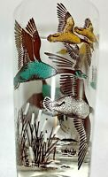 Vintage Hazel Atlas Geese Glasses Barware Set Of 4 Mid-Century Modern