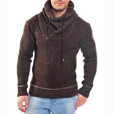 Maglioni e cardigan da uomo marrone in lana