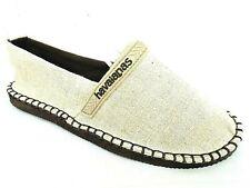 Havaianas Damas Beige Alp H origine Eco Plana Textil Zapatos UK 2.5 - EUR 35
