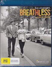 BREATHLESS - Jean-Paul Belmondo, Jean Seberg, Daniel Boulanger - BLU-RAY