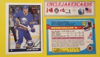 1991-92 OPC BUFFALO SABRES Select from LIST HOCKEY CARDS O-PEE-CHEE