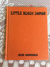 Little Black Sambo Book 1972