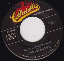 "JOHN LEE HOOKER - Blues Before Sunrise 7"""