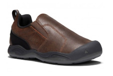 Keen Jasper Moc Shoes Slip On Hiking Youth Big Kids Girls Boys Sz 1 $60 Brown