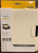 iPad 3 Targus Vuscape Folio Flip Cover w/Stand Bone White NEW IN PACKAGING!!