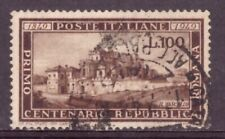 1949 Centenario Della Repubblica Romana 1 Val Usato Catalogo 600