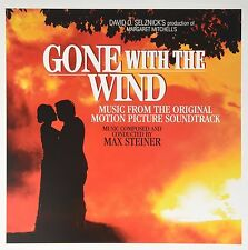 Gone With The Wind MUSIC FROM ORIGINAL MOVIE SOUNDTRACK Max Steiner NEW VINYL LP