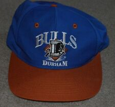 Vtg Durham Bulls Signature Snapback Minor league Baseball Hat Cap