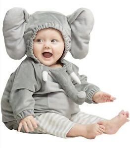 Halloween Infant Baby Elephant Costume Outfit Size 12-18 months, NWT