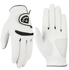 """""""New 2017"""" Callaway Weather Spann All Weather Mens Golf Glove 3 Pack"""