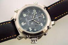 anonimo watch Chronograph 6002 Black Dial