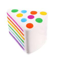 1x Jumbo Kawaii Squishy Rainbow Cream Cake Super Slow Rising Scented Squeeze Toy
