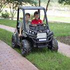 Kids Ride on Car Truck 24 Volt Camo UTV Working Headlight Quality Electric Toy