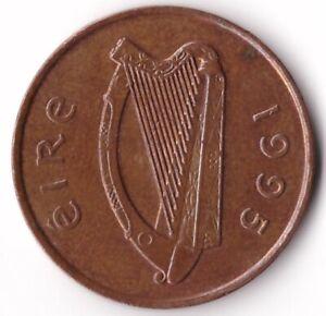 2 Pence 1995 Ireland Coin KM#21a