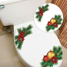 GC- KF_ Christmas Tree Removable Wall Sticker Toilet Refrigerator Cabinet Window