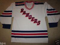 New York Rangers NYR Maska Air Knit Hockey NHL Jersey LG L mens