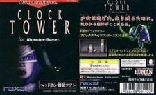 Video Game Clock Tower Wonderswan Japan Import